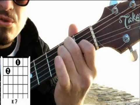 Comment jouer Les portes du pénitencier de Johnny Hallyday à la guitare