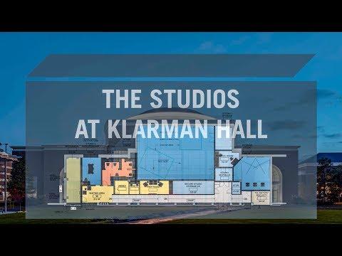 Behind the Scenes of the Klarman Hall Studios