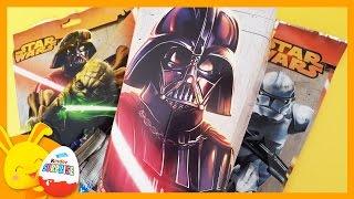 Pochettes surprises STAR WARS - Unboxing toys