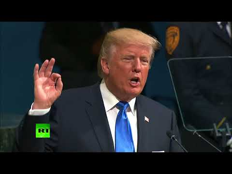 '… We will have no choice but to totally destroy N. Korea' - Trump at UNGA