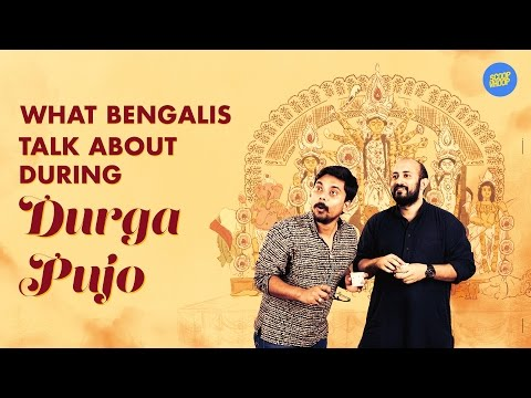 ScoopWhoop: What Bengalis Talk About During Durga Pujo