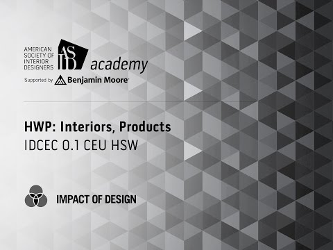 Course Preview: HWP: Interiors, Products (2)