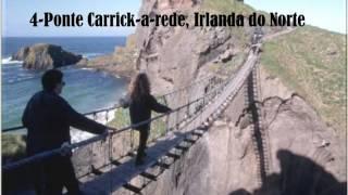 Top 10 pontes  mais assustadoras do mundo