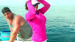 Offshore Fishing for Amberjack and Red Snapper with GoPro Underwater Video