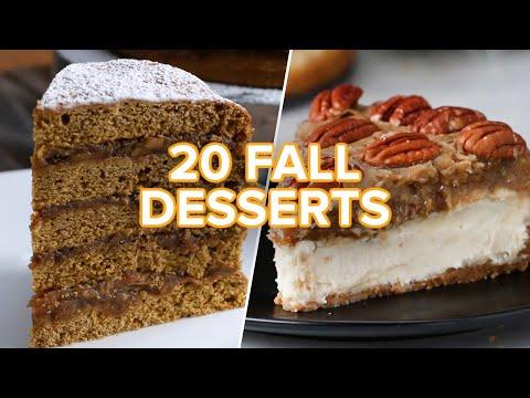20 Tasty Fall Desserts