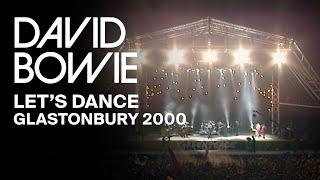 David Bowie - Let's Dance, Live at Glastonbury 2000 (Video Clip)