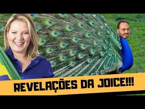 JOICE HASSELMANN REVELA QUE CARLUXO É O PAVÃO MISTERIOSO!!!