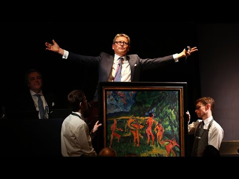 Christie's CEO Cerutti Says 'No Discounts' for Online Auctions