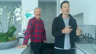 Tips to Embrace Open Concept Living with Colin & Justin