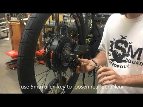 HPC Revolution Wheel Removal and Installation