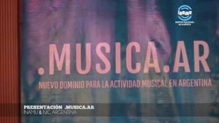 Se presentó .MUSICA.AR, nuevo dominio en Internet para la actividad musical argentina