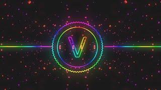 Intro Template | Audio Spectrum Template | letter V 2019
