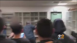 Caught On Camera: Maywood Teacher Arrested After Punching Student In Class