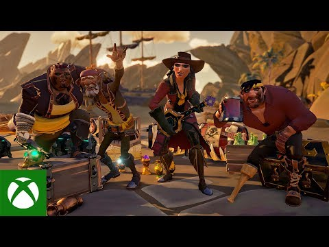 The New Legends: Official Sea of Thieves Showcase Trailer