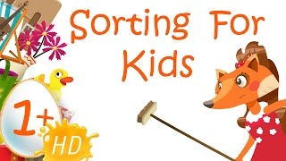 Sorting and Matching for Kindergarten -  Activities for Kids | Kids Academy