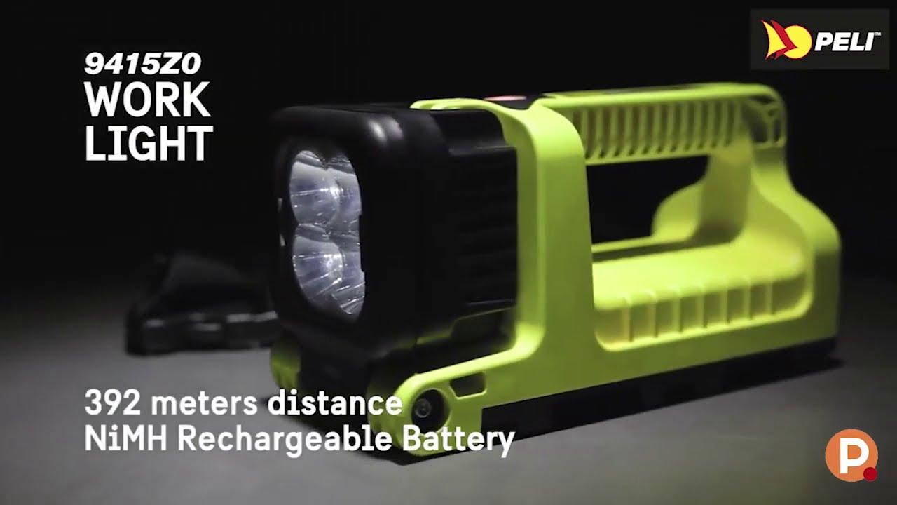 Torche Peli 3315RZ0 rechargeable Atex Zone 0