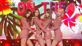 뮤직뱅크 Music Bank - 멜로디데이 - KISS ON THE LIPS (MelodyDay - KISS ON THE LIPS).20170224