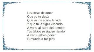 José Alfredo Jiménez - Que Se Me Acabe la Vida Lyrics