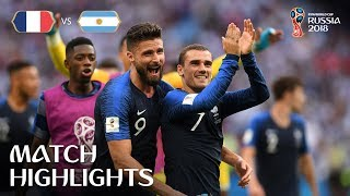 France v Argentina - 2018 FIFA World Cup Russia™ - Match 50