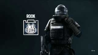 Rainbow Six Siege My Second Operator! (Rook Introduction Video)