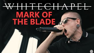 """Whitechapel - """"Mark Of The Blade"""" LIVE On Vans Warped Tour"""
