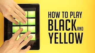 How To Play Black And Yellow - Trap Drum Pads 24 Tutorial