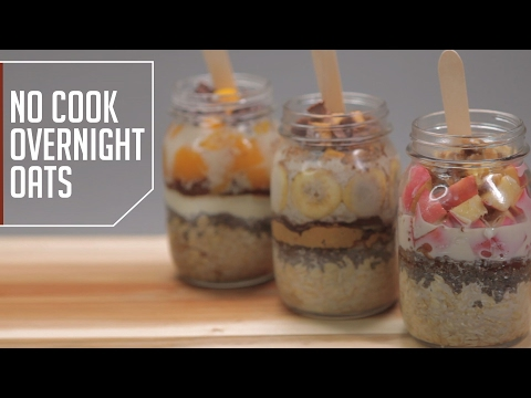 Essential Survival Fuel: No-Cook Overnight Oats