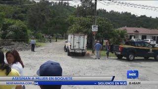 Mujer es asesinada en Boquete, Chiriquí