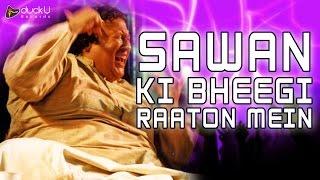 Sawan Ki Bheegi Raaton Mein |  Mid Night Songs | Nusrat Fateh Ali Khan