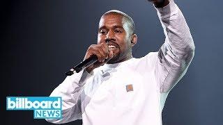 Kanye West Reveals Nas Album Tracklist & Yeezy Promo Photos   Billboard News