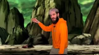 Dragon ball super PewDiePie VS Goku (PewDiePie green screen comp)