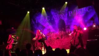 Apocalyptica - Unforgiven (Metallica) IRVING PLAZA 2016