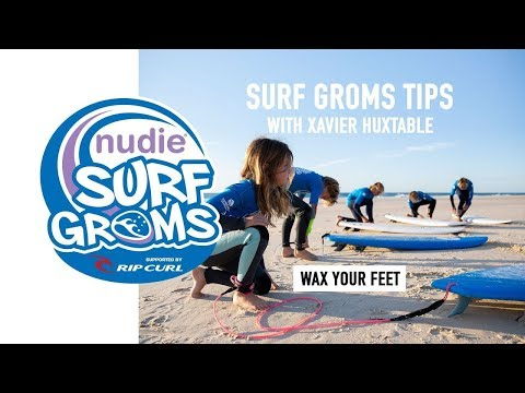 Surfing 101: Waxing Your Feet, Lesson 9