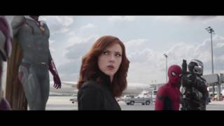 Captain America Civil War (Evanescence - Bring Me To Life) Music Video