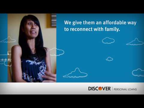 Personal Loans from Discover. The loan you need. The service you deserve.