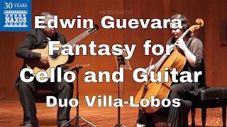 [8.573761] GUEVARA: Fantasy for Cello and Guitar: I. Providence (Moderato)