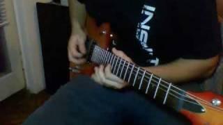 Eros Ramazzotti - Cose della vita (guitar solo)