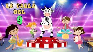 La Vaca Lola La Tabla Del 9 - Canciones Infantiles | Tablas de Multiplicar - Canti Rondas