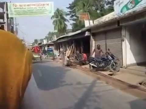 Bangladesh – Rickshaw ride in Bhola Town