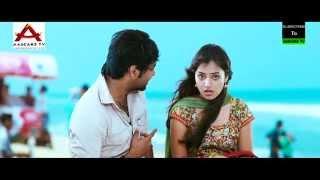 Jai, Nazriya Nazim Beach Scene  - Thirumanam Enum Nikkah width=