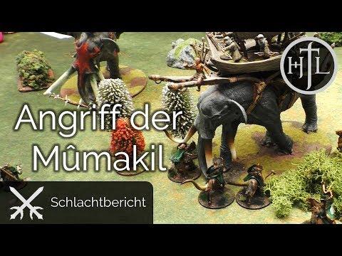 Battlereport - DRdK #9 - Der Angriff der Mûmakil (Mittelerde / Hobbit / Herr der Ringe)