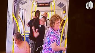 Cellphone footage shows moments leading up to Portland MAX train stabbing