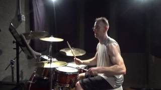 Eva Shaw ft. Shaggy & Demarco - High - Drum cover/mini shed