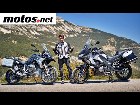 Comparativo BMW R 1250 GS vs Kawasaki Versys 1000 SE | Review en español HD | motos.net