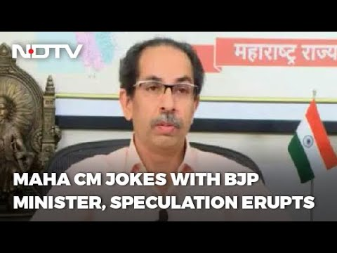 "Uddhav Thackeray's ""Future Friend"" Remark For BJP Leader Reignites Buzz"