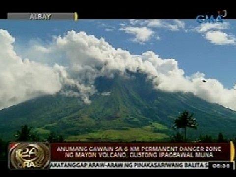 Anumang Gawain Sa 6 Km Permanent Danger Zone Ng Mayon Volcano Gustong Ipagbawal Muna