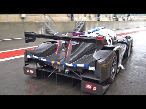 Ligier JS P3 Nissan V8 Testing at Spa Francorchamps! LOUD Sounds!
