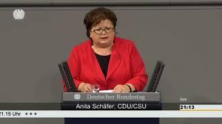 Anita Schäfer: Menschenrechte in Mexiko [Bundestag 21.05.2015]