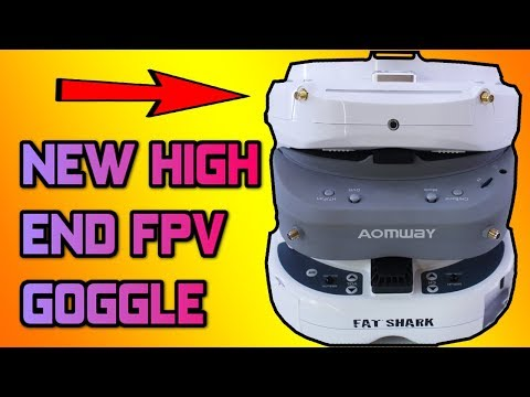 NEW SKYZONE VS FATSHARK VS AOMWAY! Which is best? Skyzone SKY03 review