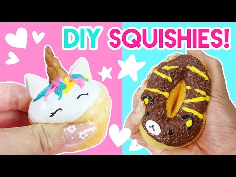 How to Make DIY Squishies (No Memory Foam)!
